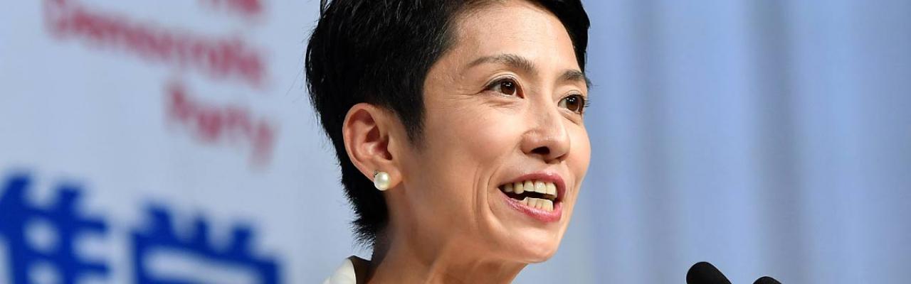 グラビアアイドル「蓮舫」が民進党党首にまでステップアップしていく流れ